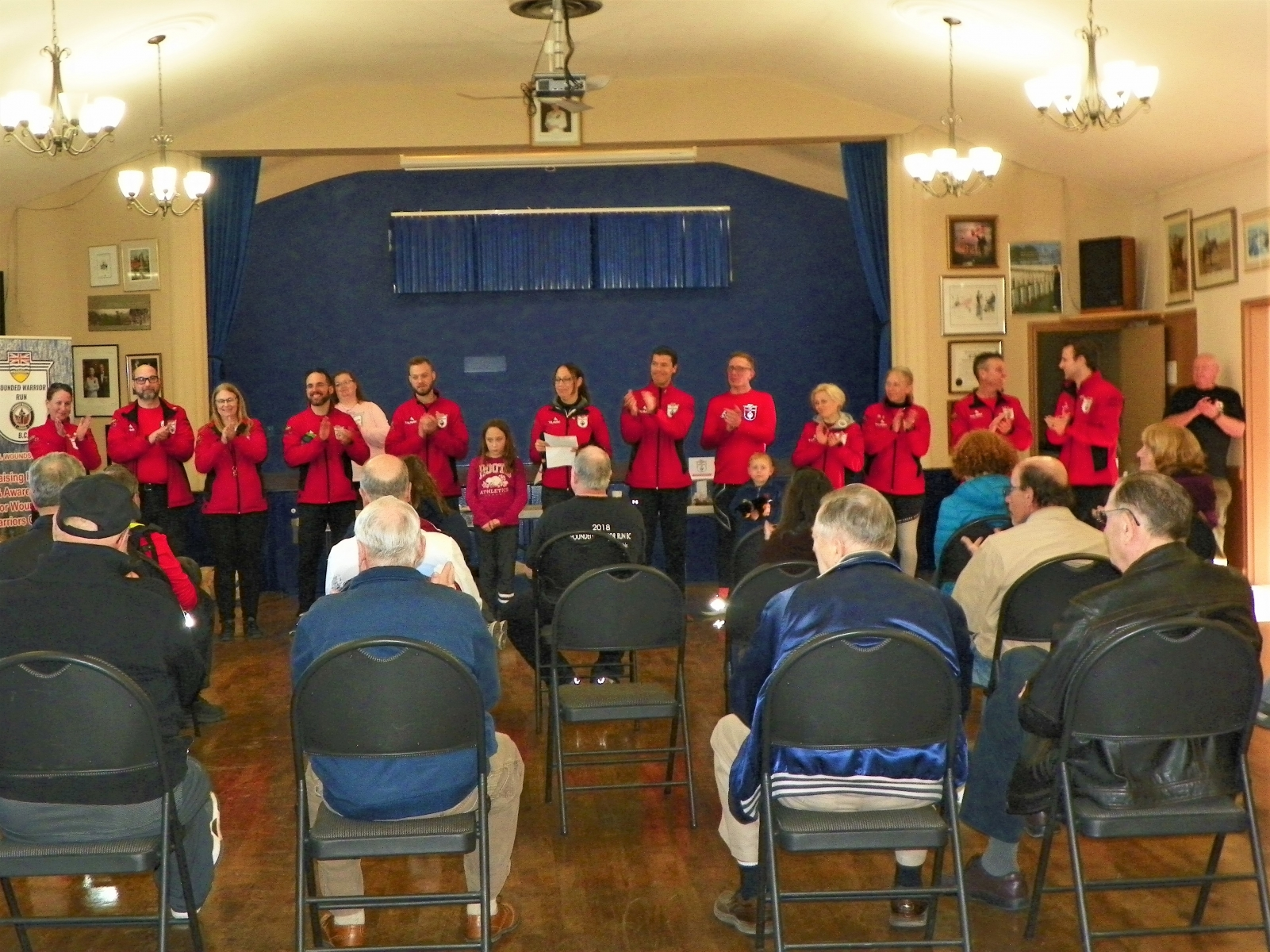 WoundedWarrior Mar 2019 - Meeting the Wounded Warriors Team - Branch 191 Chemainus Legion